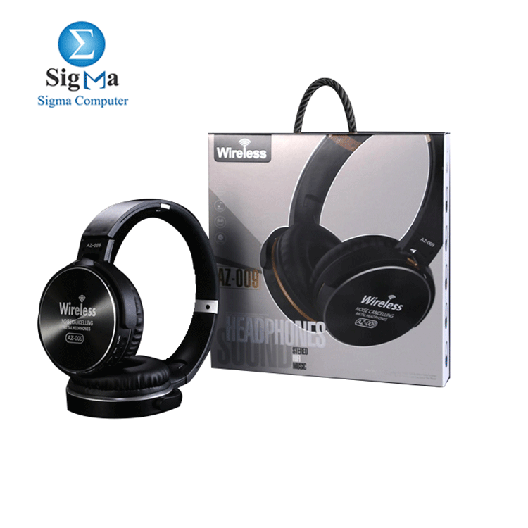 Headphone Wireless Noise Cancelling - AZ-009