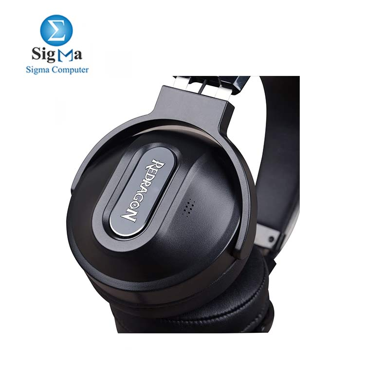 Redragon H990 Gaming Headset 7.1 Surround Sound Gaming Headset with Active Noise Canceling USB Gaming Headphones with Microphone and Inline Volume Control for PS4 Laptop PC Gaming