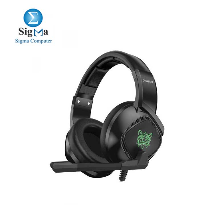 ONIKUMA k19 Stereo Gaming Headset   Noise Canceling Over-Ear Headphones with Glaring LED Lights