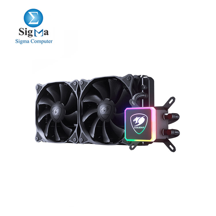 COUGAR AQUA 280- HIGH PERFORMANCE CPU LIQUID COOLER
