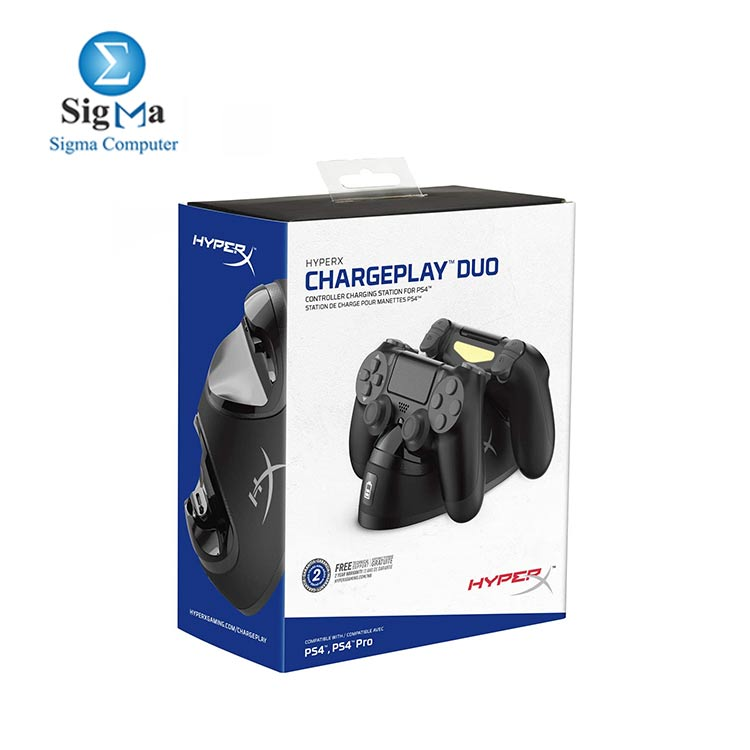 HyperX ChargePlay Duo - Controller Charging Station for Playstation 4 (HX-CPDU-G)