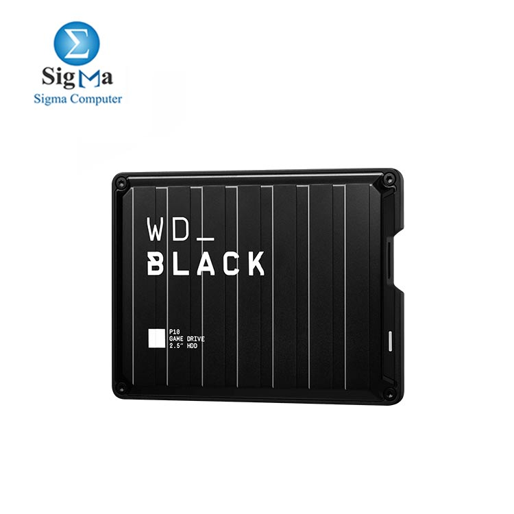 WD Black 5TB P10 Game Drive  Portable External Hard Drive Compatible with Playstation  Xbox  PC    Mac