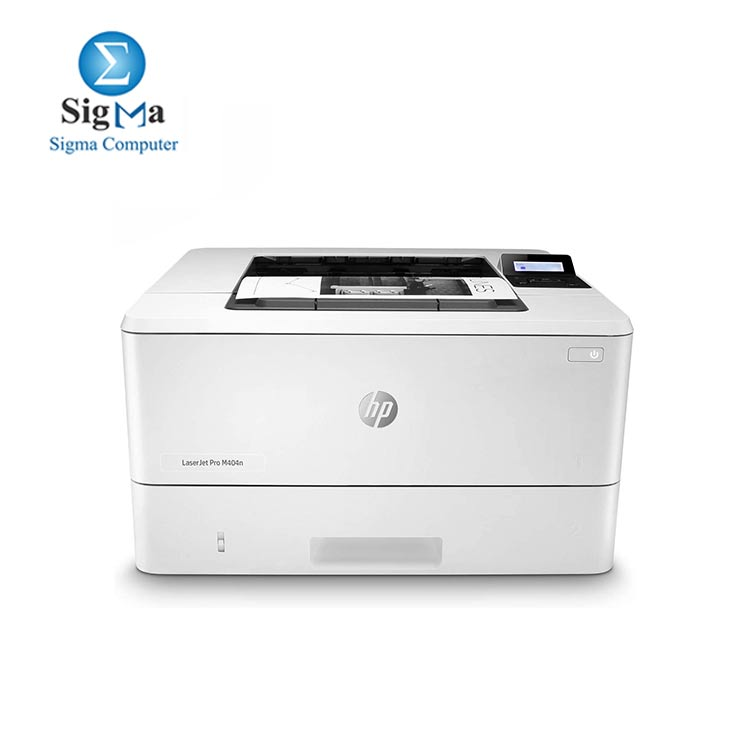 HP LaserJet Pro M404n Laser Printer with Built-in Ethernet   Security Features