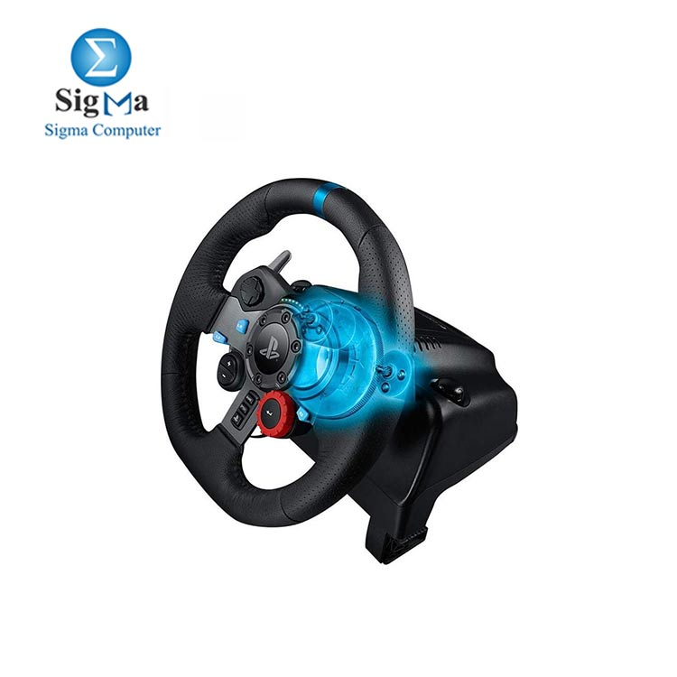Logitech G29 Driving Force Racing Wheel PS4   PS3   Powered USB port   Windows